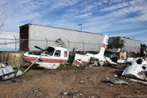 Crashed_Aero_Commander_aircraft_photo