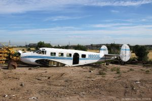 Beech_18_Duff_Aircraft_Boneyard_photo