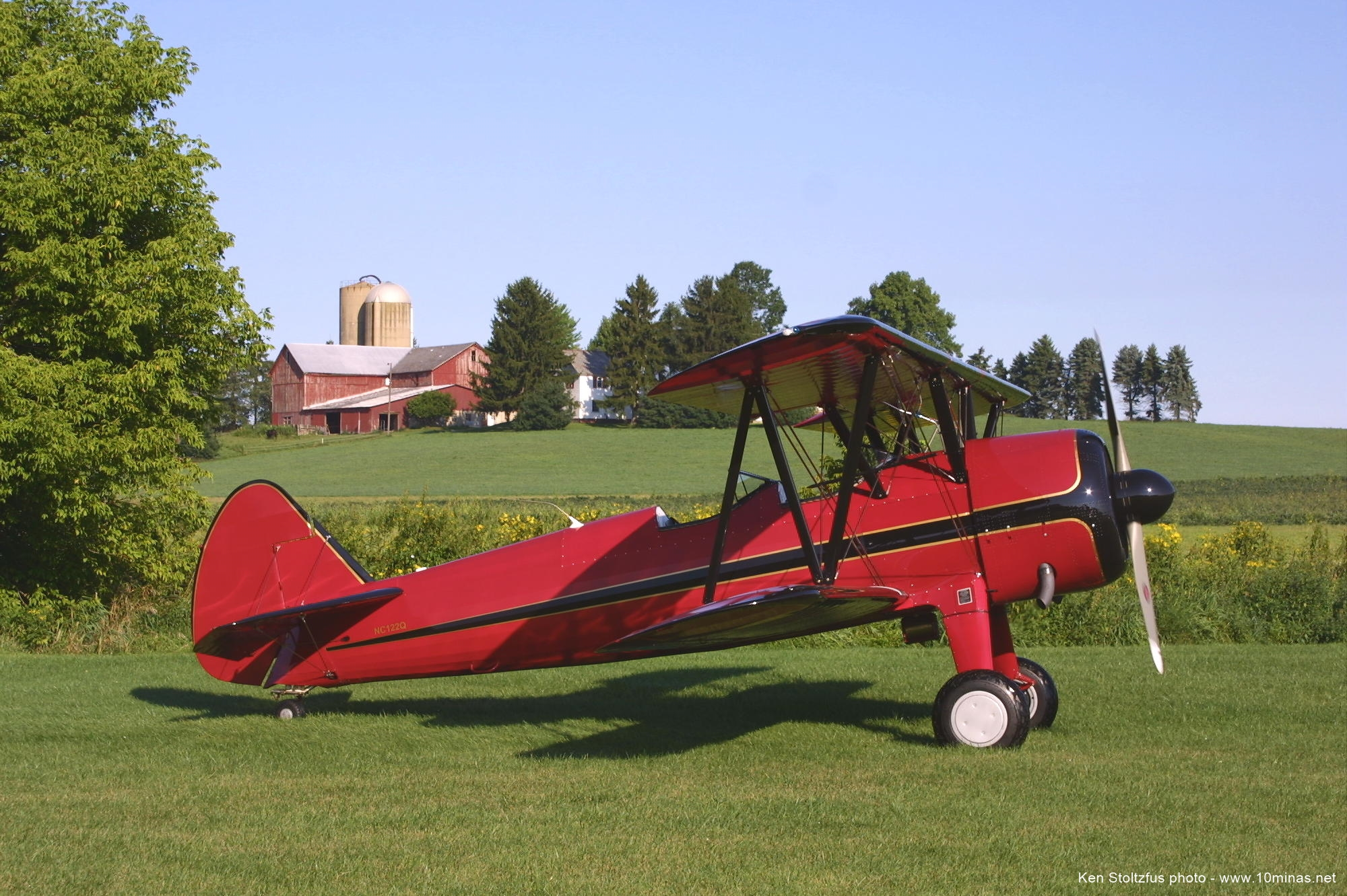 450_Stearman_aircraft_photo_Kidron_OH